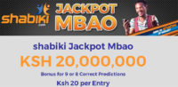 Shabiki Jackpot Predictions