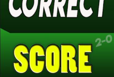 100% sure Correct Score predictions
