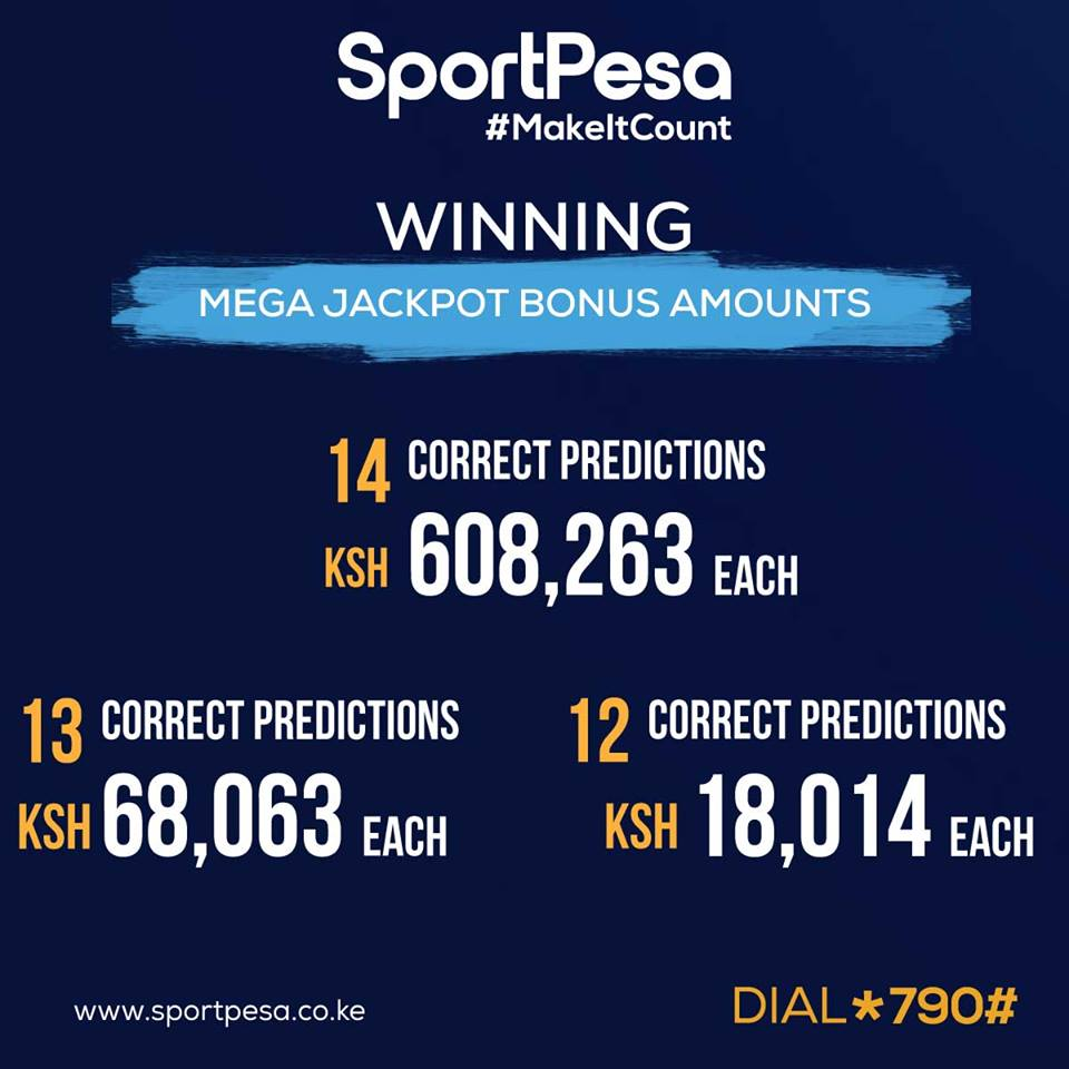 Receive 3 Versions of Sportpesa Midweek Jackpot predictions