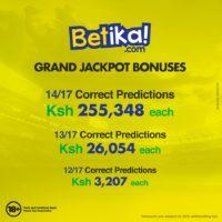 betika jackpot winner