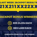 Betika Midweek Jackpot Bonuses