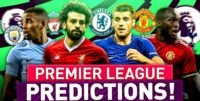 English Premier league Predictions
