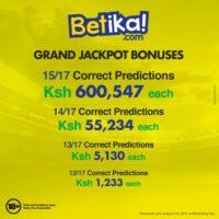betika jackpot results