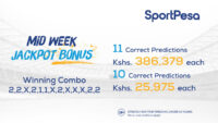 Sportpesa Midweek Jackpot Results