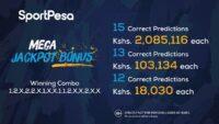 Sportpesa Mega Jackpot Winners
